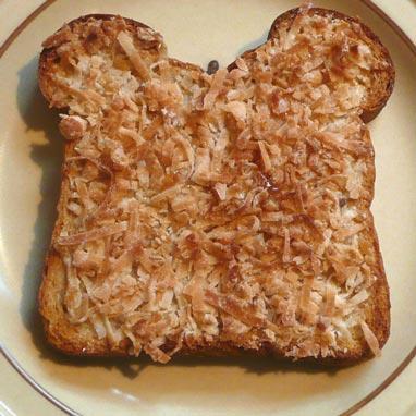 Keith's Coconut Toast Recipe